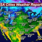 USA Weather With US Cities Weather Forecast